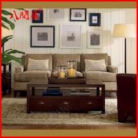 供应八间屋客厅沙发 咖啡厅单双三人布艺沙发