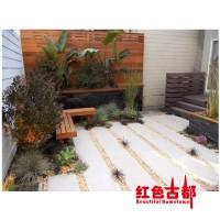 阳台花园施工 入户花园施工 花园工程总包 庭院花园工程景区施工