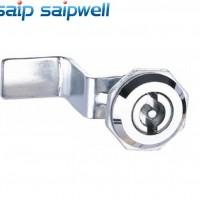 SP-MS705-2-1亮光机械门锁 质保柜体锁具 圆锁带钥匙 **赛普锁
